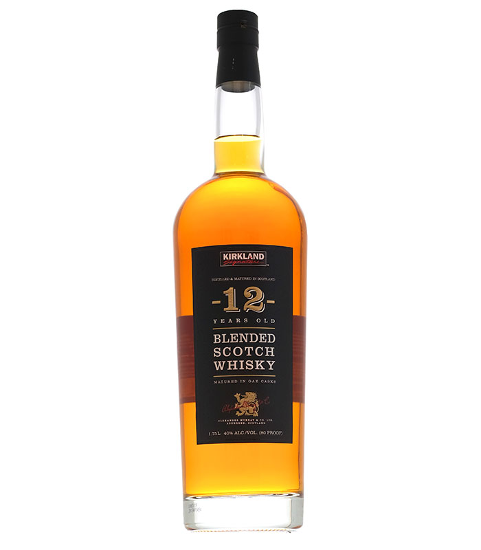 Kirkland Signature 12 Year Old Blended Scotch Whisky 1.75L
